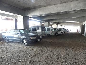 職人さん用駐車場